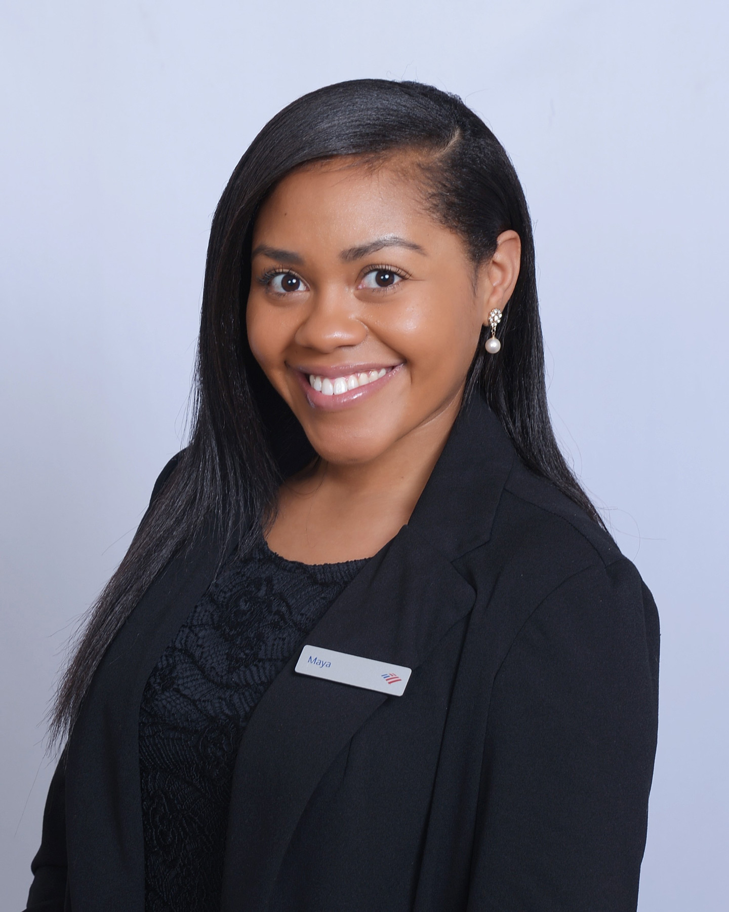Photo of Bank of America employee Maya Rowe